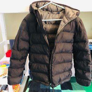 Uniqlo warm padded jacket size 7-8 for boys